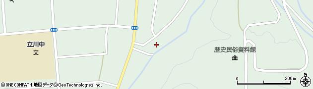 山形県東田川郡庄内町狩川阿古屋124周辺の地図