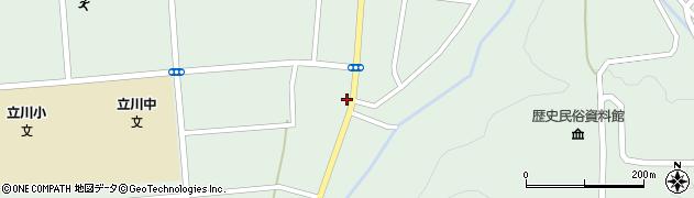 山形県東田川郡庄内町狩川阿古屋46周辺の地図