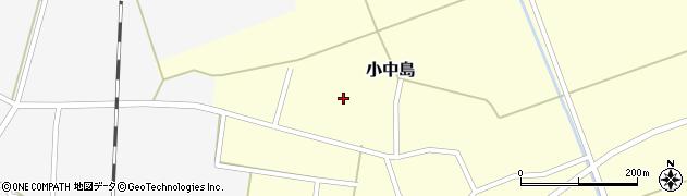 山形県鶴岡市小中島(赤沼)周辺の地図