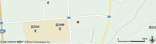 山形県東田川郡庄内町狩川古楯周辺の地図