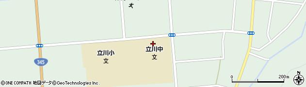 山形県東田川郡庄内町狩川松葉1周辺の地図