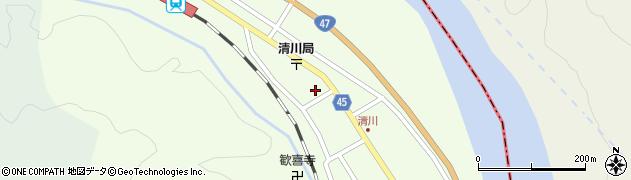 山形県東田川郡庄内町清川花崎201周辺の地図