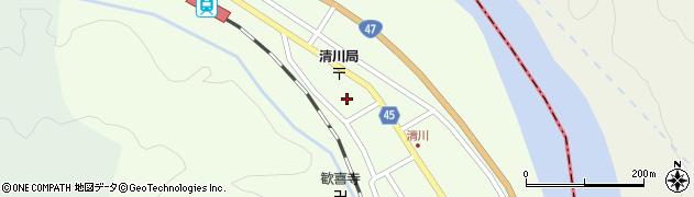 山形県東田川郡庄内町清川花崎204周辺の地図