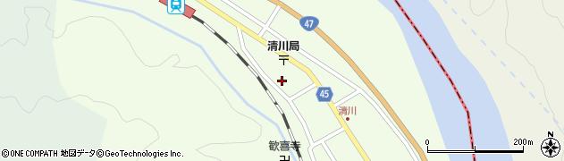 山形県東田川郡庄内町清川花崎205周辺の地図