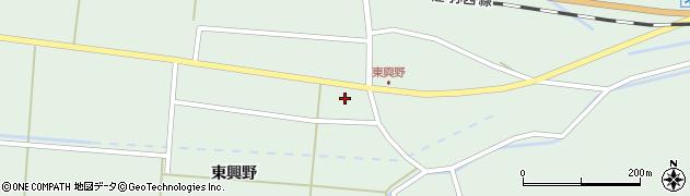 山形県東田川郡庄内町狩川東興野9周辺の地図
