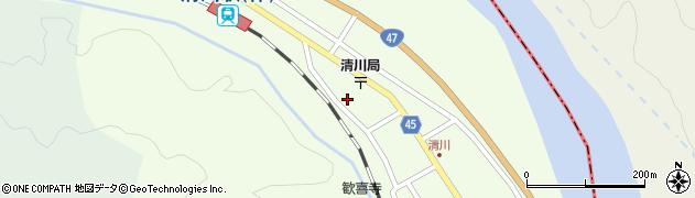 山形県東田川郡庄内町清川花崎207周辺の地図
