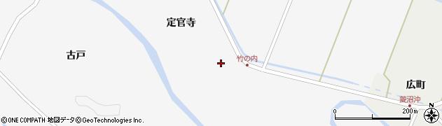 宮城県栗原市栗駒桜田竹ノ内周辺の地図
