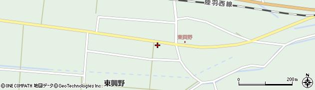 山形県東田川郡庄内町狩川東興野14周辺の地図