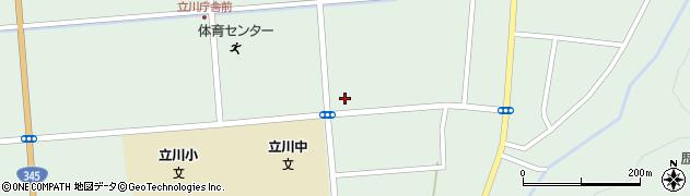 山形県東田川郡庄内町狩川大釜84周辺の地図