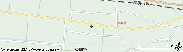 山形県東田川郡庄内町狩川東興野47周辺の地図