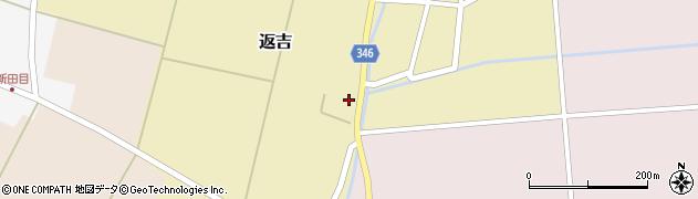 山形県東田川郡庄内町返吉屋敷田56周辺の地図