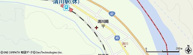 山形県東田川郡庄内町清川花崎210周辺の地図