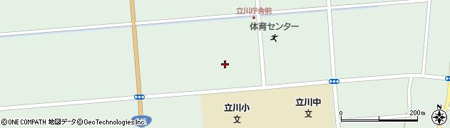 山形県東田川郡庄内町狩川大釜11周辺の地図