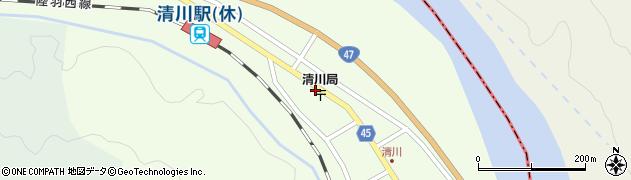山形県東田川郡庄内町清川下川原12周辺の地図