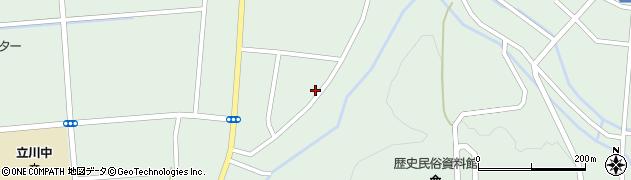 山形県東田川郡庄内町狩川阿古屋96周辺の地図