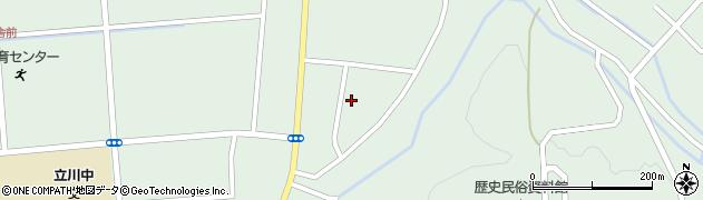 山形県東田川郡庄内町狩川阿古屋99周辺の地図