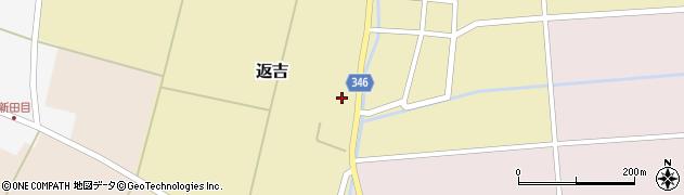 山形県東田川郡庄内町返吉屋敷田40周辺の地図