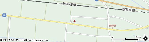山形県東田川郡庄内町狩川東興野71周辺の地図