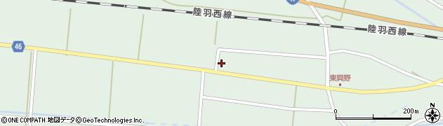 山形県東田川郡庄内町狩川東興野69周辺の地図