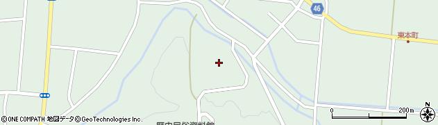 山形県東田川郡庄内町狩川山居67周辺の地図