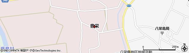山形県鶴岡市豊栄周辺の地図