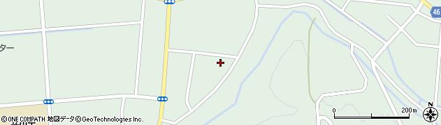 山形県東田川郡庄内町狩川阿古屋90周辺の地図