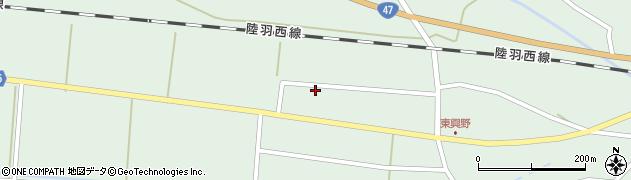 山形県東田川郡庄内町狩川東興野40周辺の地図
