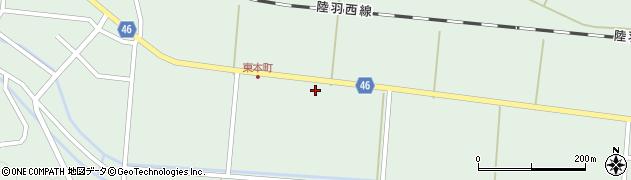 山形県東田川郡庄内町狩川下南割7周辺の地図