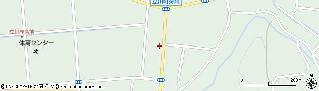 山形県東田川郡庄内町狩川阿古屋78周辺の地図