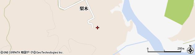 宮城県大崎市鳴子温泉鬼首(梨木)周辺の地図
