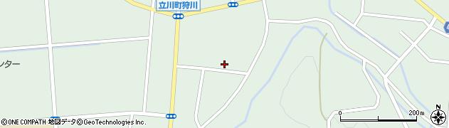 山形県東田川郡庄内町狩川楯下80周辺の地図