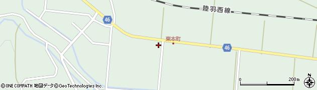 山形県東田川郡庄内町狩川山居24周辺の地図