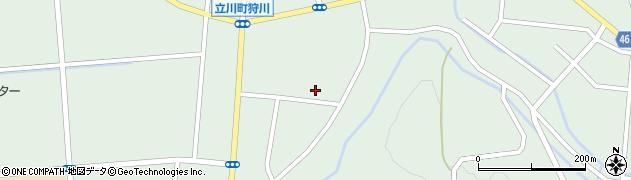 山形県東田川郡庄内町狩川楯下81周辺の地図