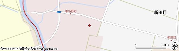 山形県東田川郡庄内町本小野方南割7周辺の地図