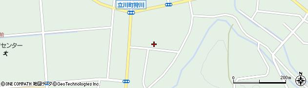 山形県東田川郡庄内町狩川楯下77周辺の地図
