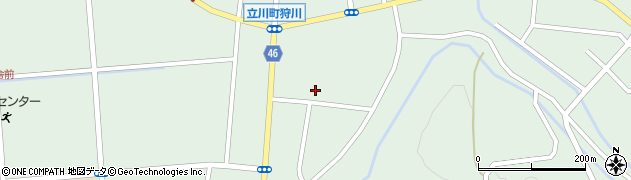 山形県東田川郡庄内町狩川楯下75周辺の地図