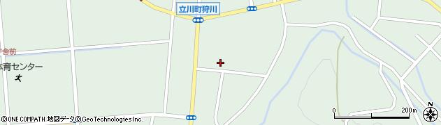 山形県東田川郡庄内町狩川楯下73周辺の地図