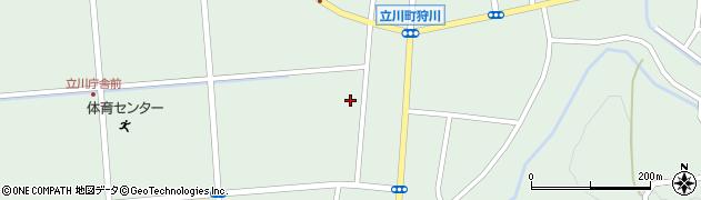 山形県東田川郡庄内町狩川西裏110周辺の地図