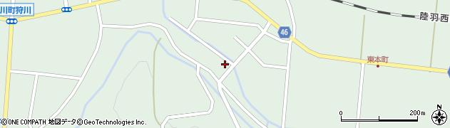 山形県東田川郡庄内町狩川山居47周辺の地図