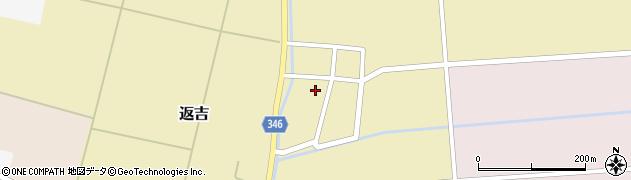 山形県東田川郡庄内町返吉角崎33周辺の地図