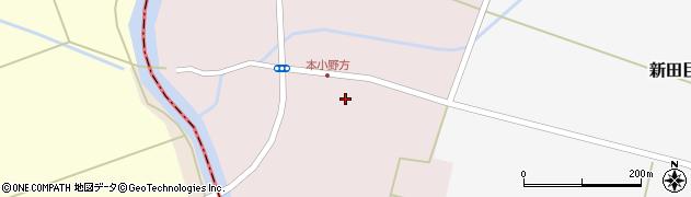 山形県東田川郡庄内町本小野方東割30周辺の地図