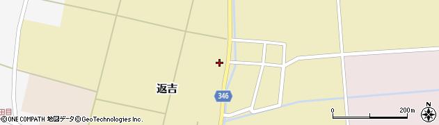 山形県東田川郡庄内町返吉屋敷田35周辺の地図