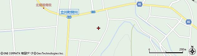 山形県東田川郡庄内町狩川楯下98周辺の地図