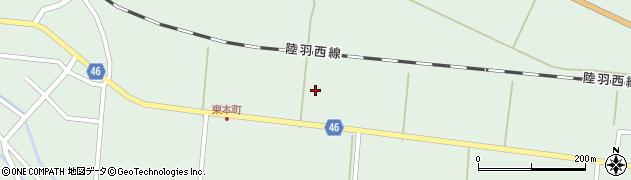 山形県東田川郡庄内町狩川内北割37周辺の地図