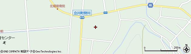 山形県東田川郡庄内町狩川楯下76周辺の地図