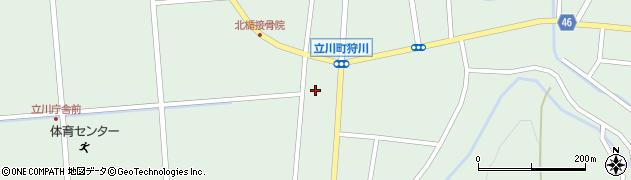 山形県東田川郡庄内町狩川楯下61周辺の地図