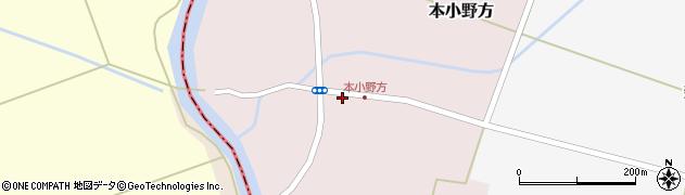 山形県東田川郡庄内町本小野方東割44周辺の地図