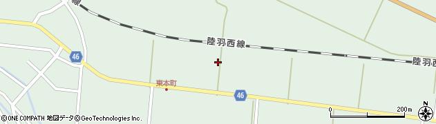 山形県東田川郡庄内町狩川堂ノ下35周辺の地図