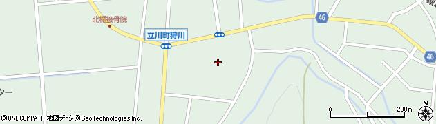 山形県東田川郡庄内町狩川楯下97周辺の地図