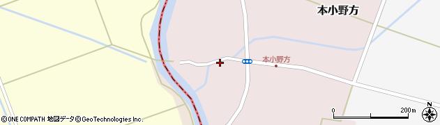 山形県東田川郡庄内町本小野方東割58周辺の地図